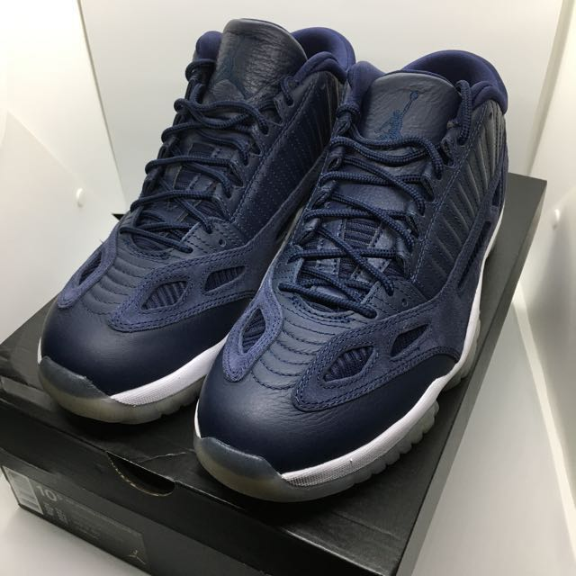 95dbf216e2bc Air Jordan 11 Low IE Obsidian Midnight Navy