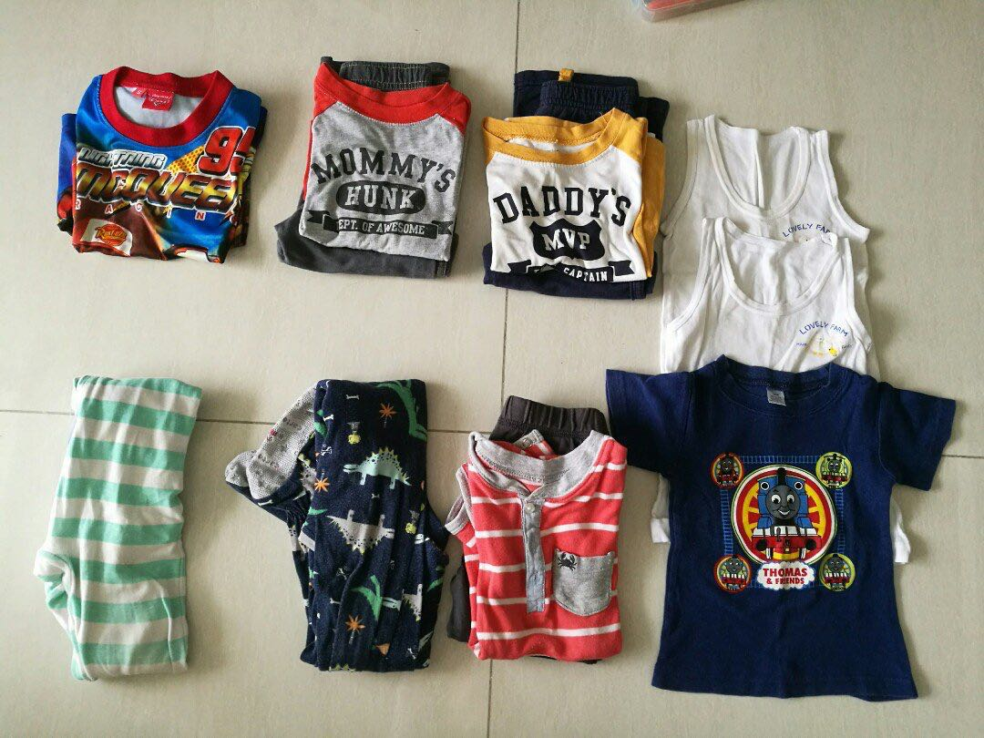 7b6fe50f8280 assorted boy clothes 2T -3T carters boy long sleeves set