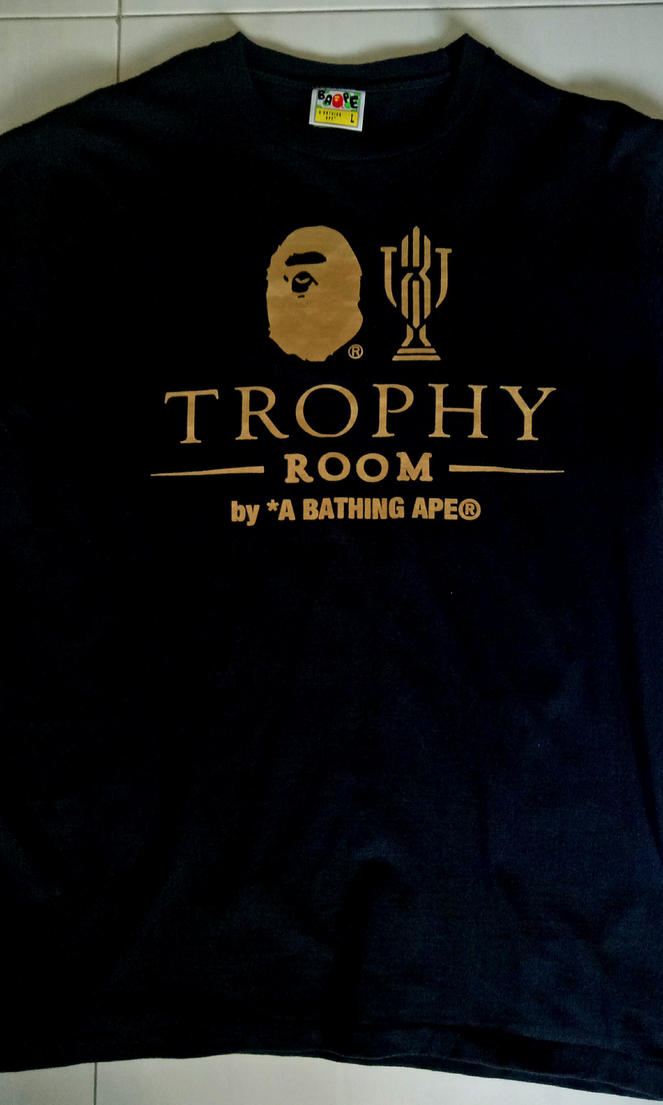 6bfc41ff Bape Trophy Room, Men's Fashion, Clothes, Tops on Carousell