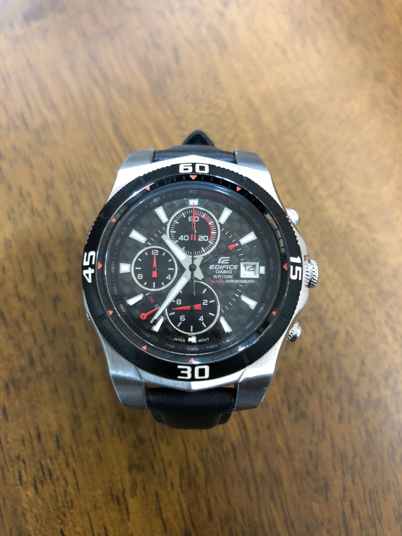 a9fff7cb819d Casio Edifice EF-514 Alarm Chronograph - 41mm