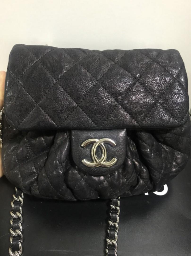 e4be46f1414d49 Chanel Chain Around Mini Black, Women's Fashion, Bags & Wallets ...