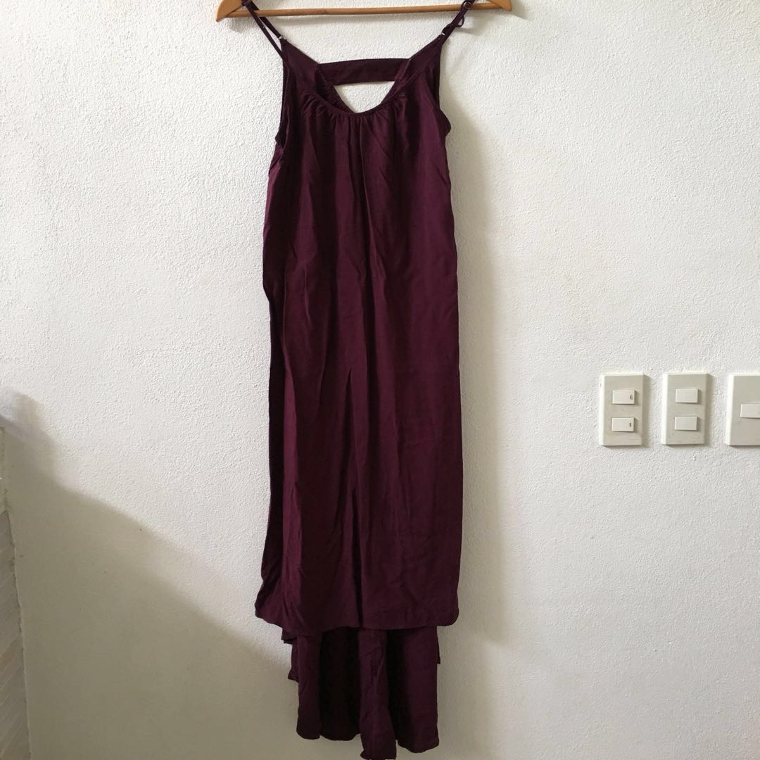 94171371e870 Cotton-On Burgundy Maxi Dress