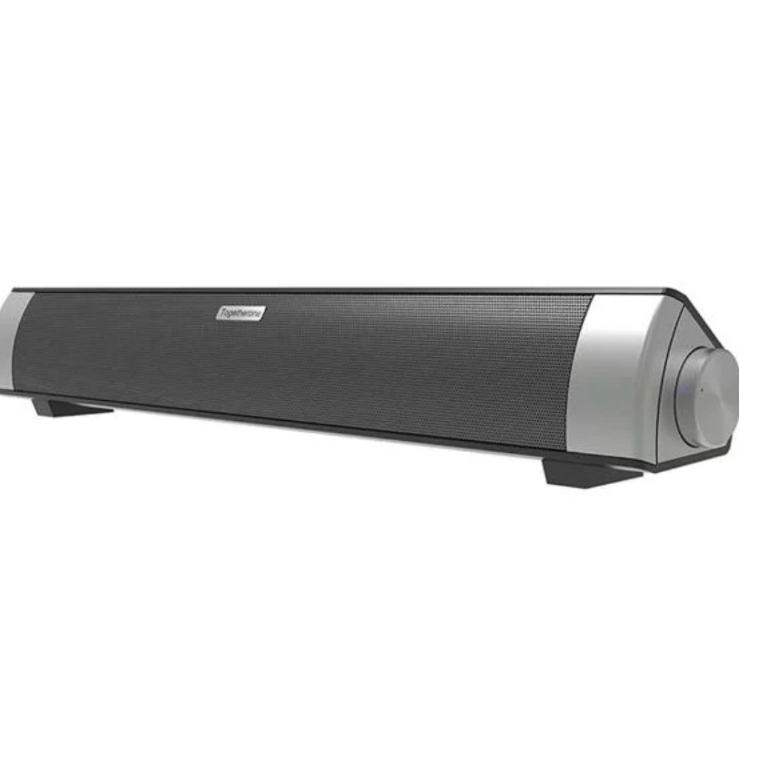 (E440) Togetherone Wireless Bluetooth Sound Bar Speakers with NFC, 24-Hour  Playtime, 10W Dual Drivers, Built-in Microphone for Hands-free Calling,