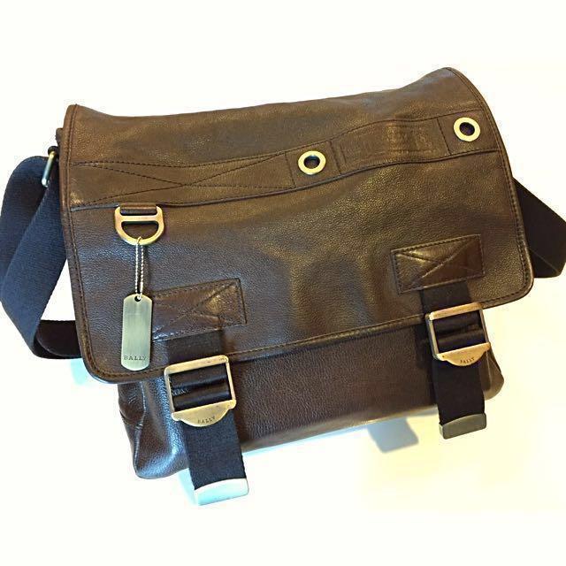 972fe18f12 Bally Messenger Bag - Rilko