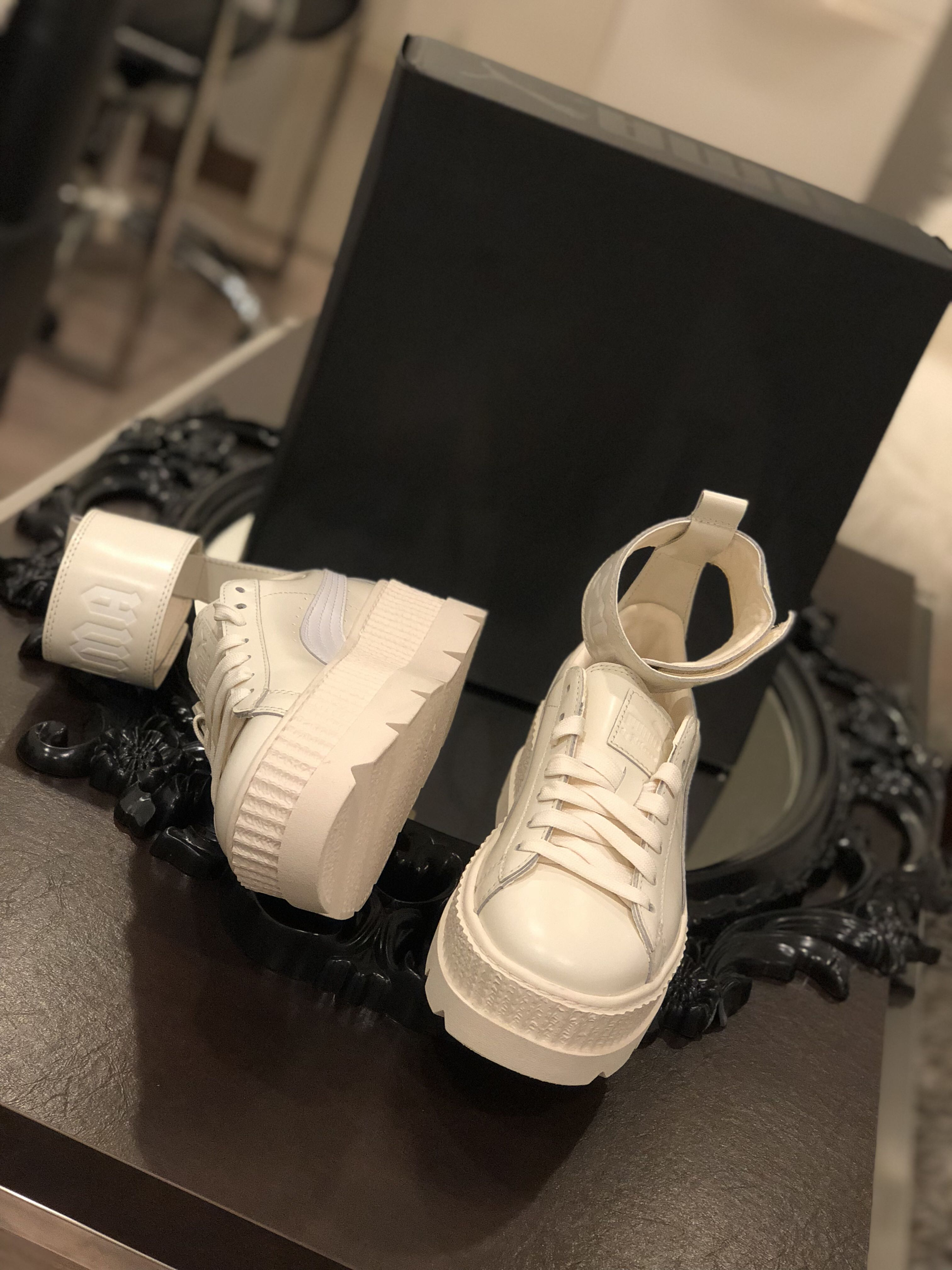 pretty nice 23d23 8bb85 Fenty x puma Rihanna ankle strap creep sneaker (new )