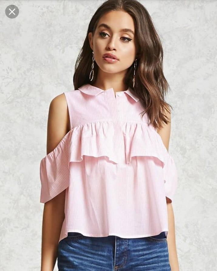 389463c38b3 Forever 21 open shoulder top, Women's Fashion, Clothes, Tops on ...