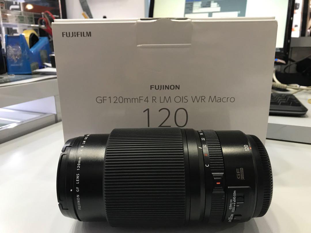 Fujifilm 120mm F4 Gf Lm Ois Wr Macro Lens Kamera Di Carousell Fujinon F 4 R