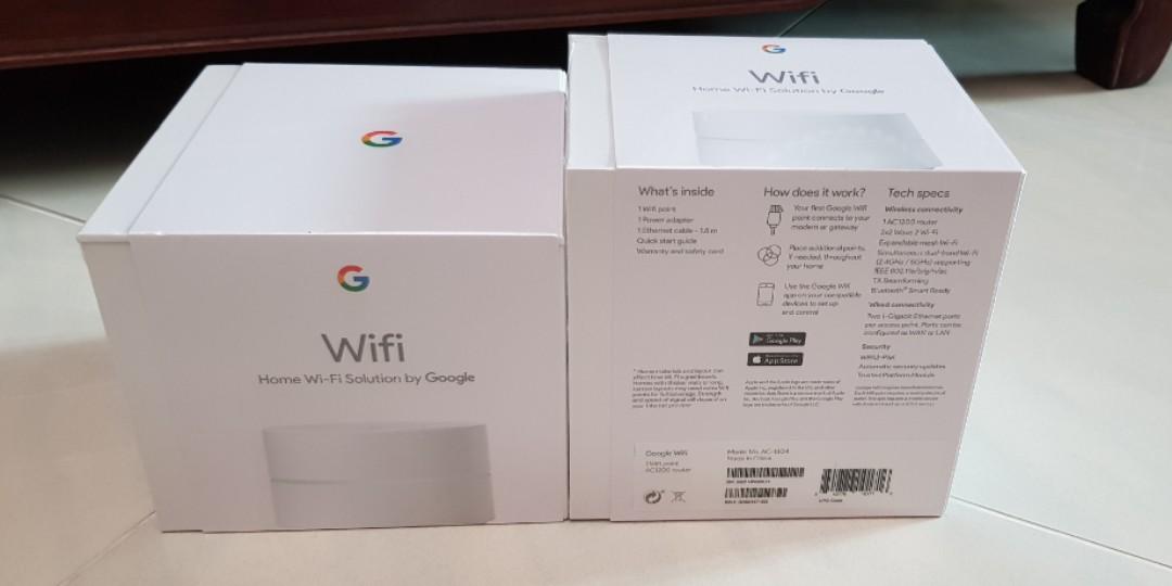Google Wifi (set of 2) & Home Mini, Electronics, Others on