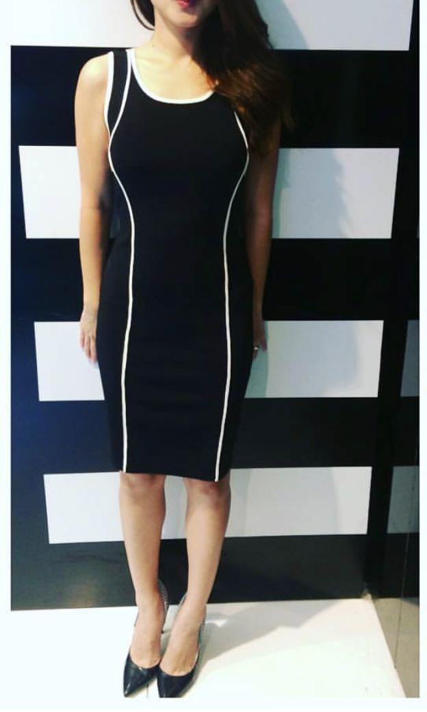 e027f84fbde GUESS? Marciano Black Pencil Dress