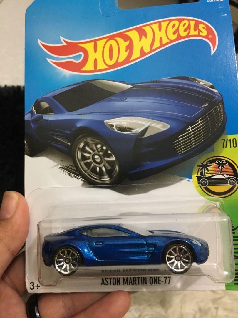 Hot Wheels Aston Martin One 77 Toys Collectibles Mainan Di Carousell