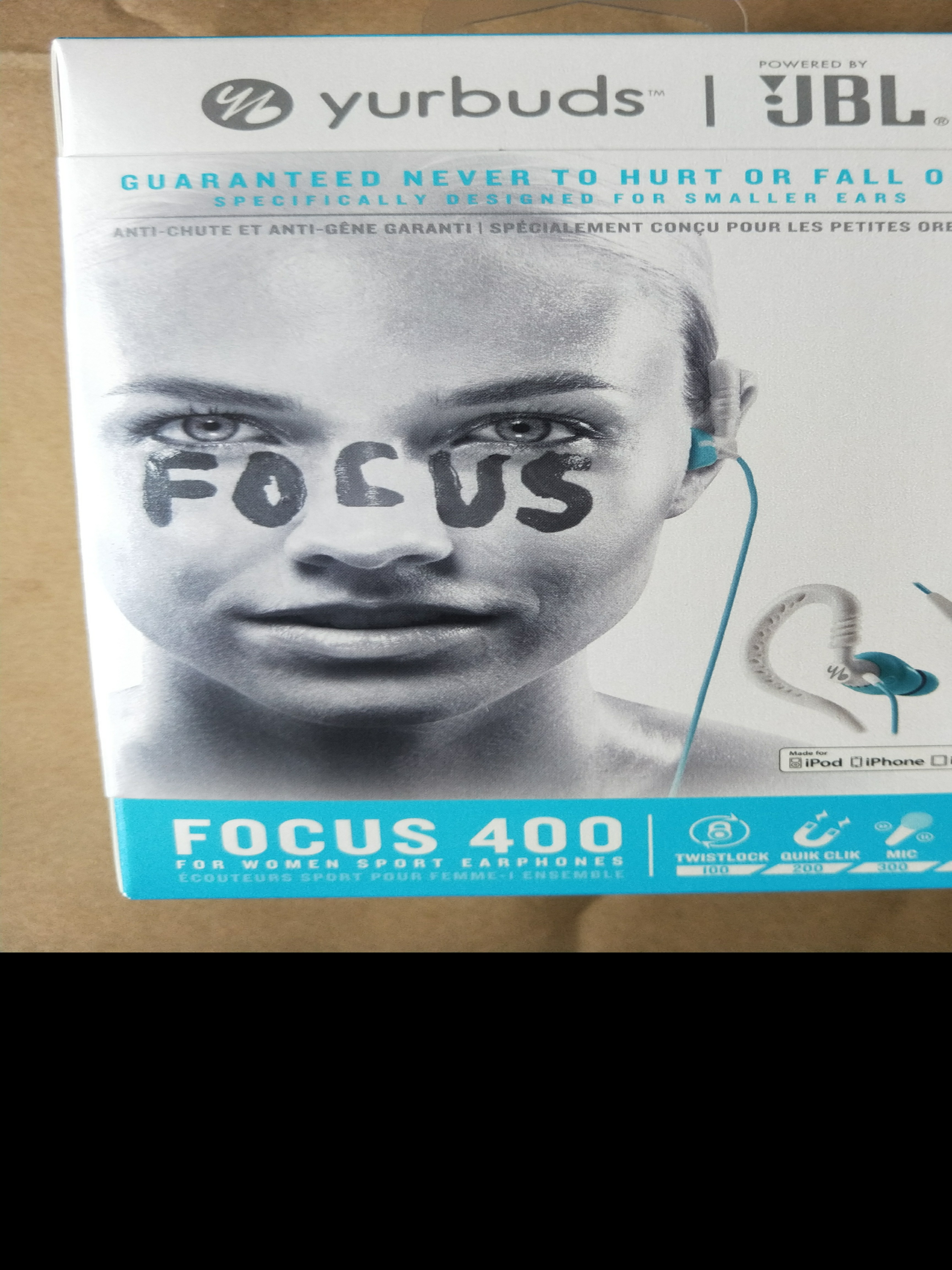 ac8fcb07f30 JBL Yurbuds Sports Earphones (for women) Yurbuds Focus 400 (Aqua ...
