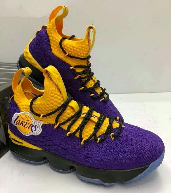new style f2520 b5684 Lebron 15 Lakers / OEM on Carousell