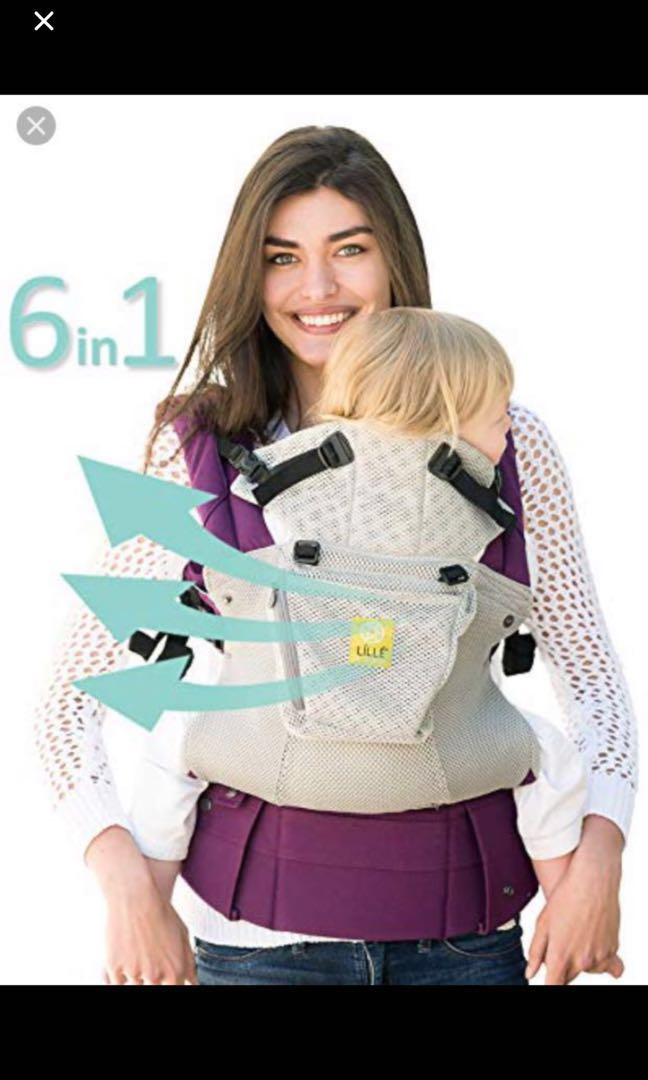 5c3a582c0d2 LILLEbaby Airflow 6in1 Complete baby carrier