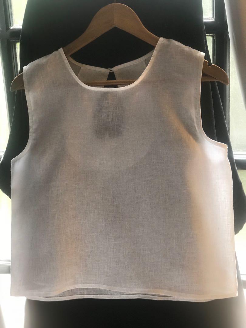 78f4113378a2b Linen tops women fashion clothes tops on carousell jpg 810x1080 Linen tops