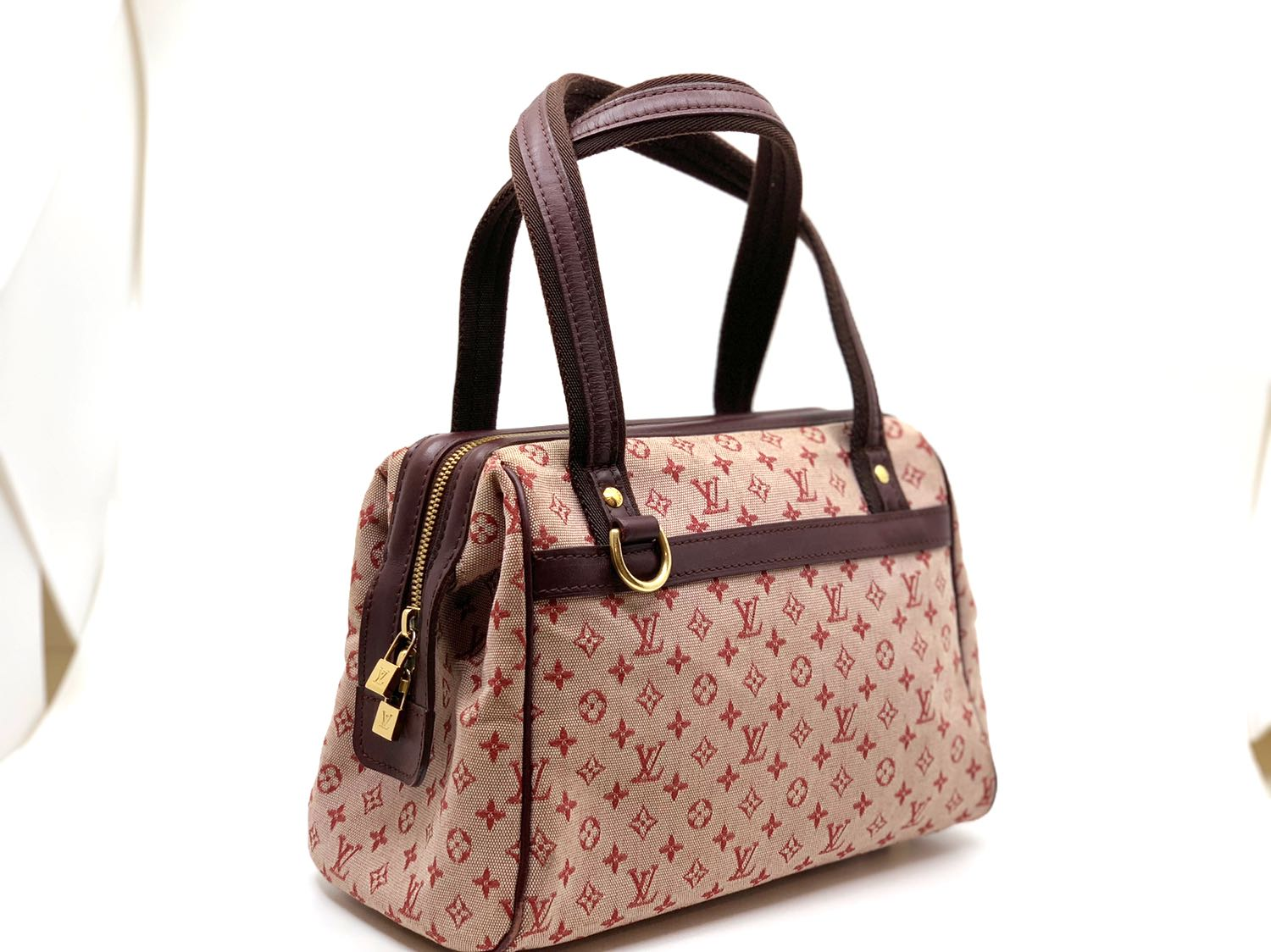44ad5151d Louis Vuitton Cherry Monogram Mini Lin Josephine Bag PM, Luxury ...