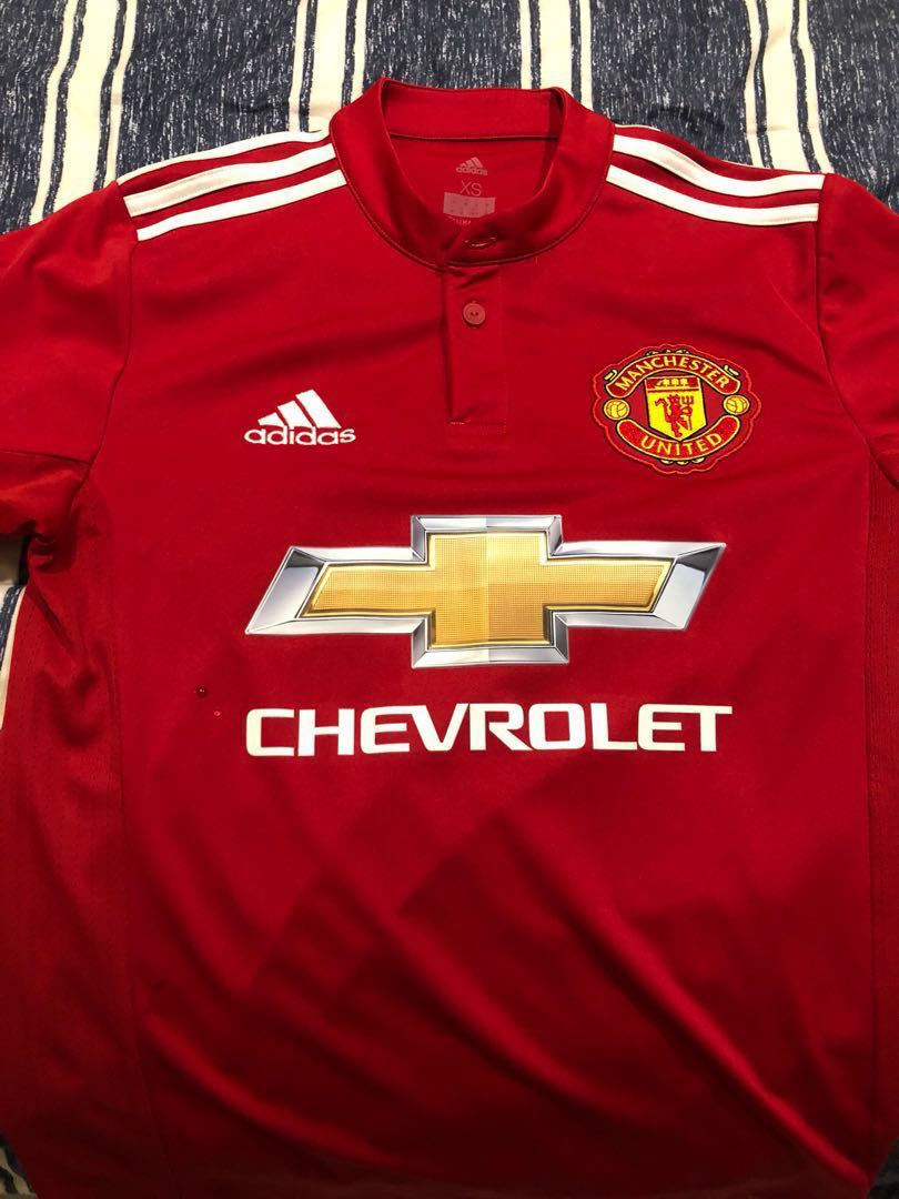 7bc2d0c37 Manchester United Home 17 18 (Adult xs)