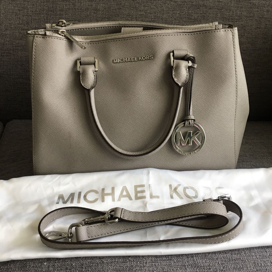 b9ba66ab52ec Michael Kors Medium Sutton Satchel, Luxury, Bags & Wallets, Handbags ...