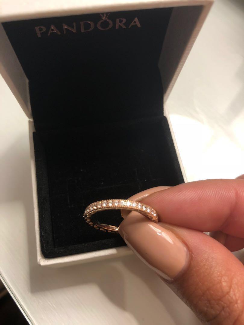Pandora Hearts of Pandora Rose Gold Ring