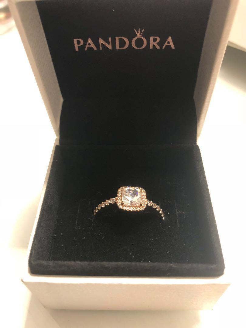 Pandora Timeless Elegance Rose Gold Ring