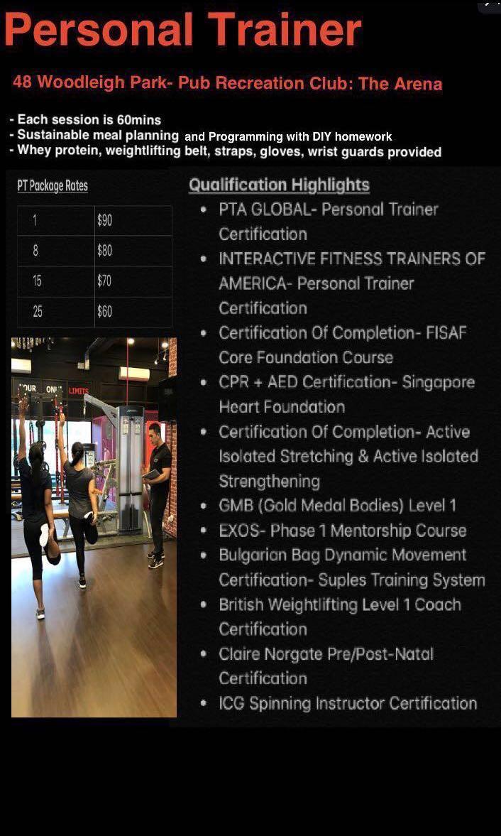 Personal Trainer Course America Custom Fighting Gabriel Martinezafaa