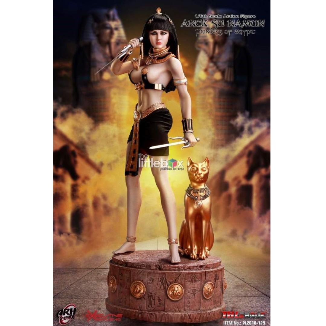 1//6 head sculpt Egypt female ANCK SU NAMUN  for TBleague phicen Figure action
