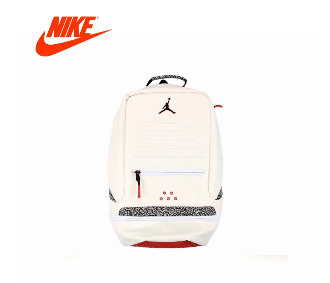 63de87c0ff9a2e Authentic Nike Air Jordan 3 Backpack (White)
