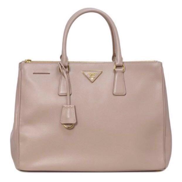 f8d45e853bc4 PRADA SAFFIANO LUX TOTE (CAMMEO, LARGE), Luxury, Bags & Wallets ...