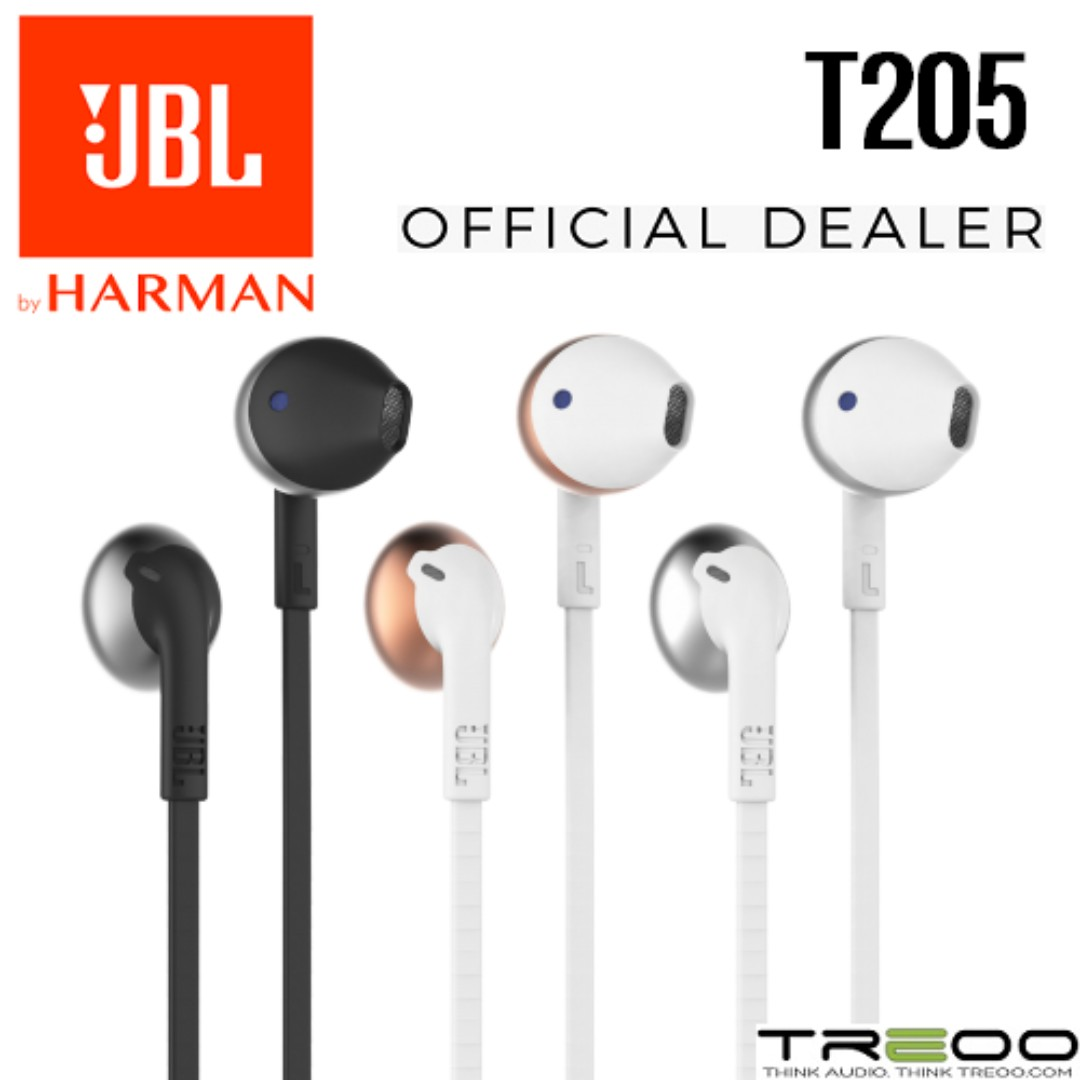 f37a51e2a88 PROMO!] JBL T205 On-Ear Earbud with Microphone, Electronics, Audio ...
