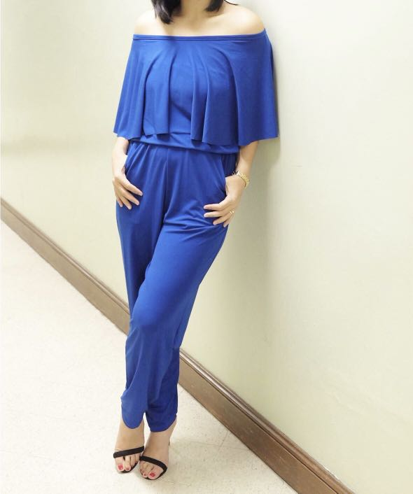 6206c9b2291d9 Semi-formal Jumpsuit, Women's Fashion, Clothes, Rompers & Jumpsuits on  Carousell