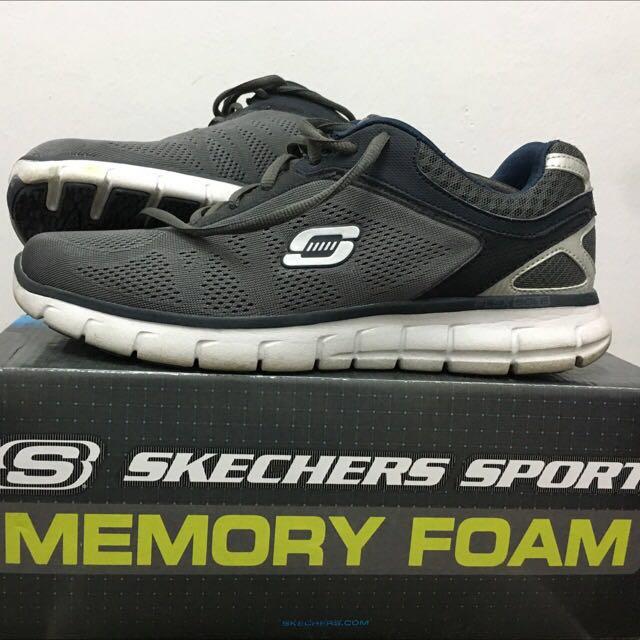 5cf9190b98484 Skechers Sport Memory Foam, Men's Fashion, Footwear, Sneakers on Carousell