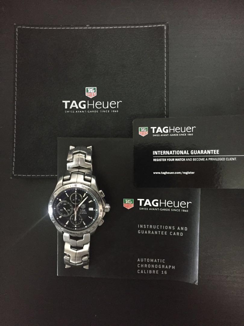 a780d094bc7d TAG Heuer Link Automatic Chronograph CJF2110.BA0594