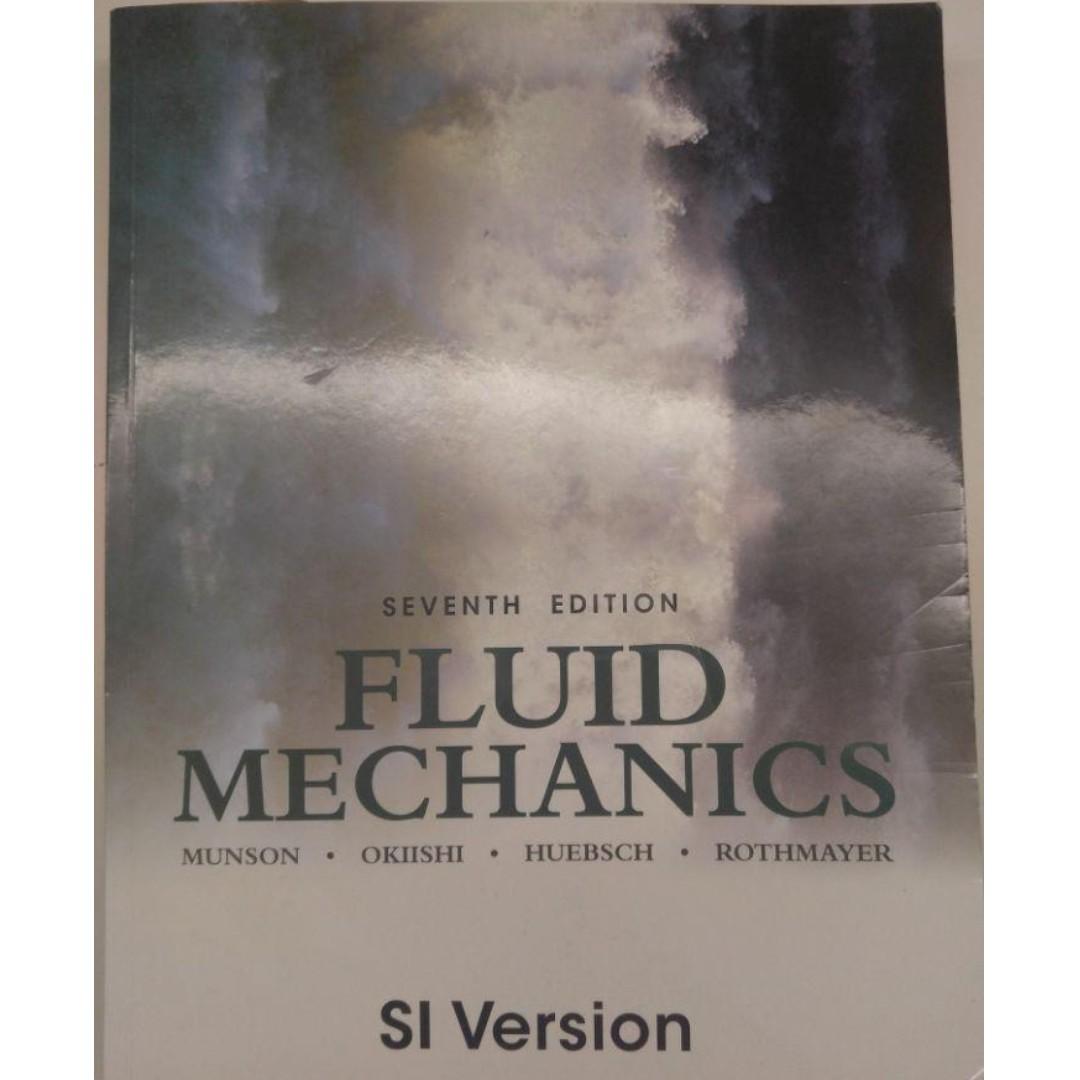 Textbooks for NUS Mechanical Engineering (Fluid mechanics