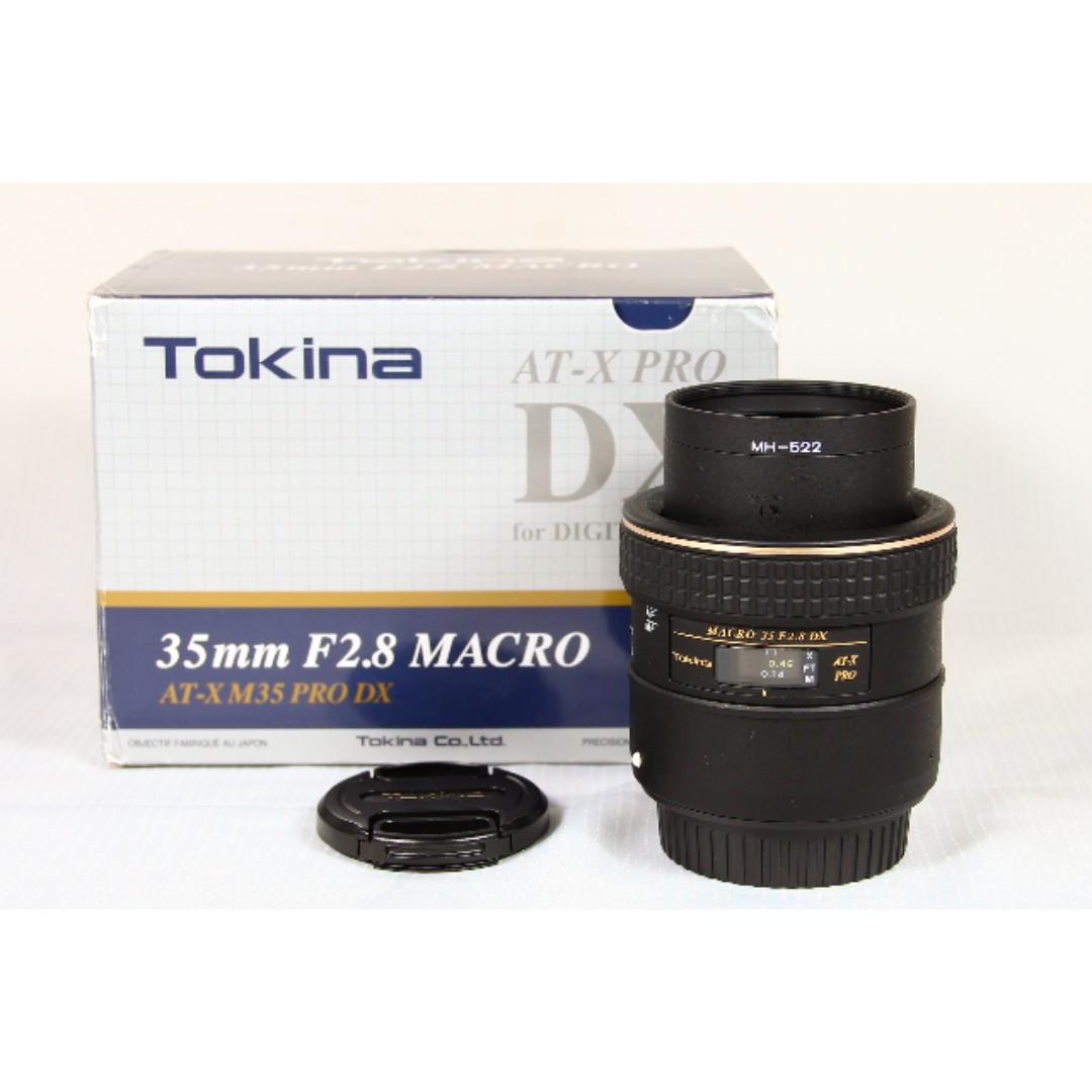 Tokina (CanonMount) AT-X Pro 35mm f2.8 Macro, Photography, Lenses on ...