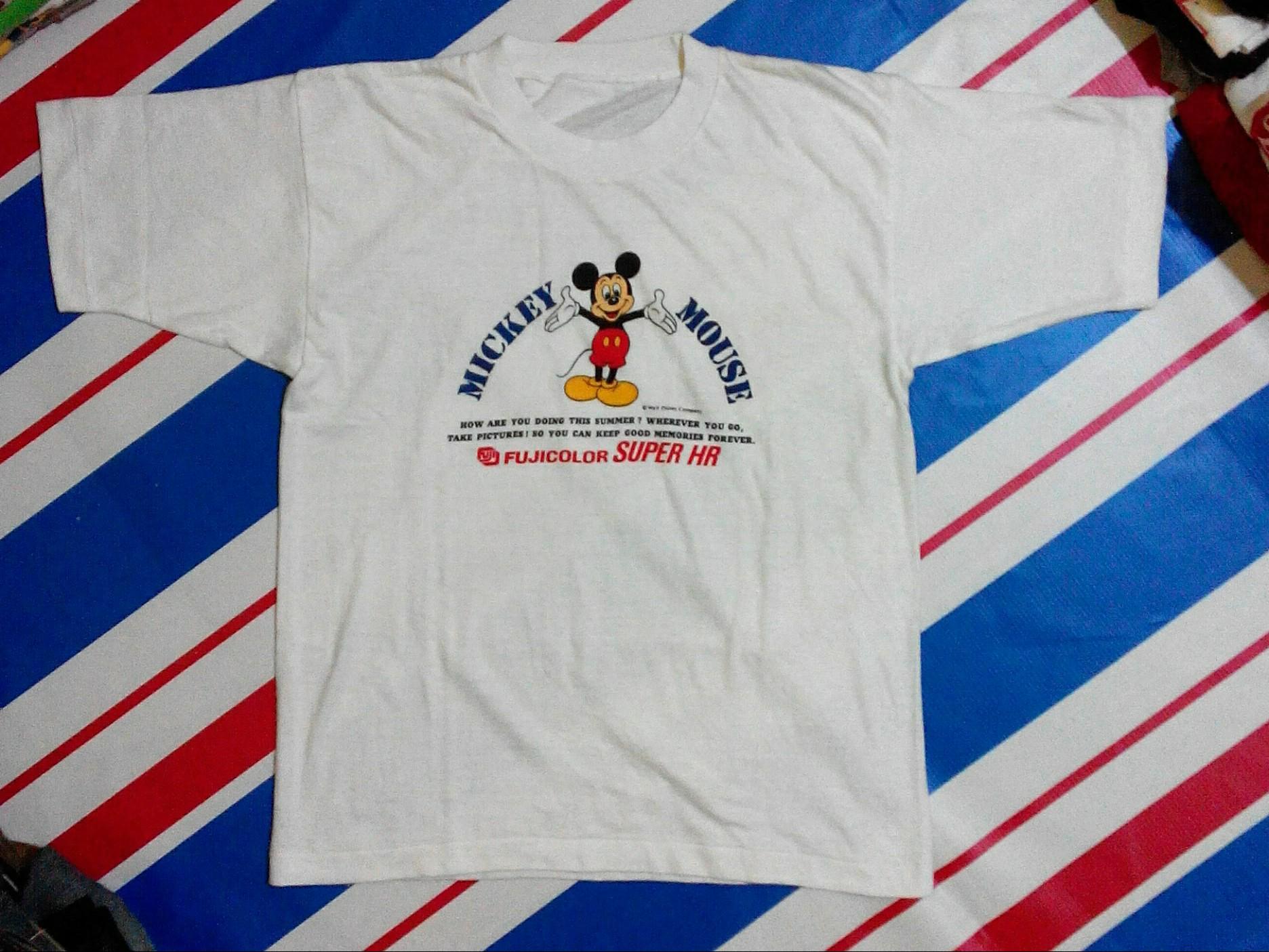 Ts Mickey Vintage Japan Mens Fashion Clothes Others On Carousell Tendencies Tshirt Rock Hitam Xxl