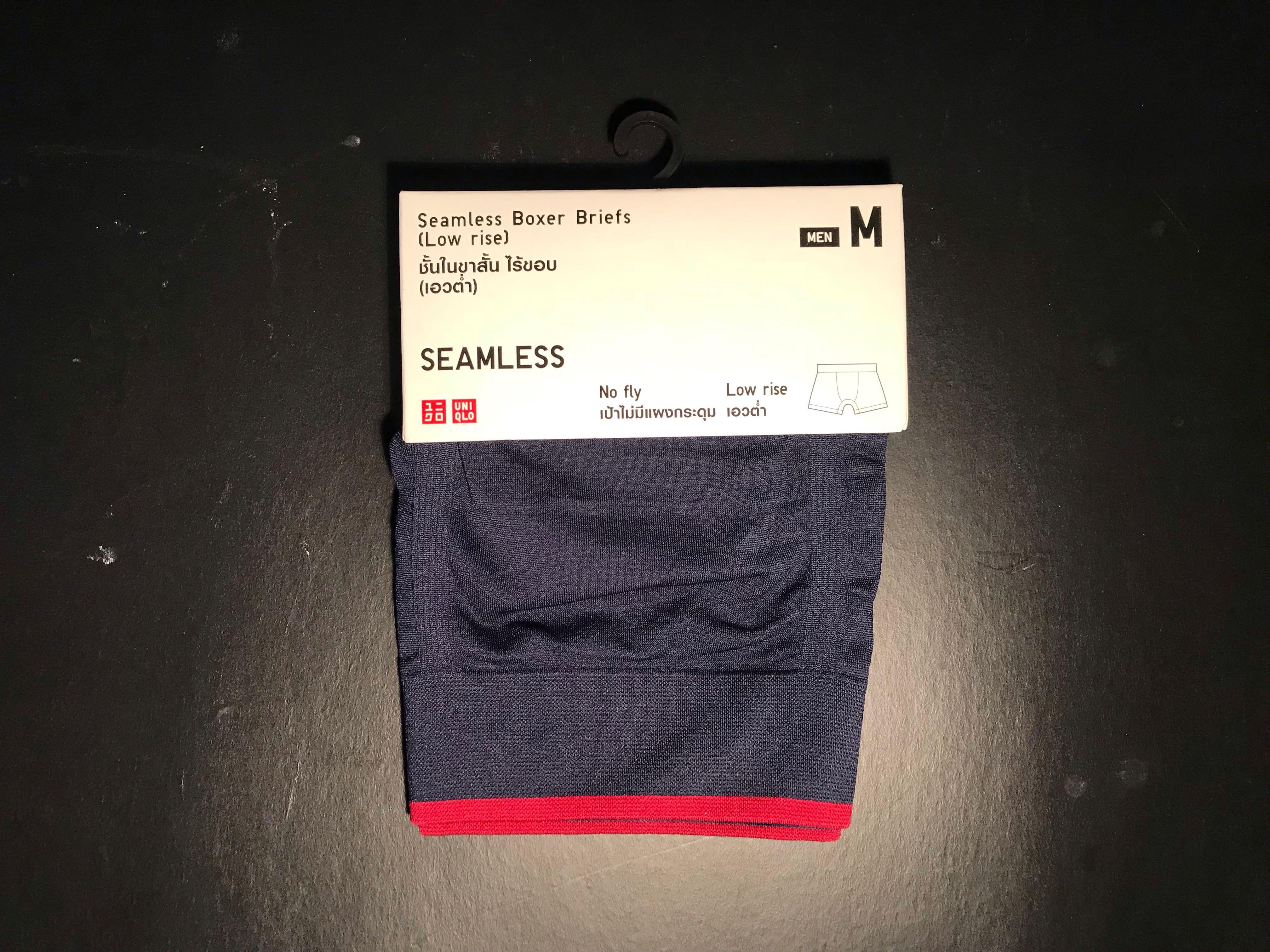 9bba05fb1dbe Uniqlo SEAMLESS Boxer Briefs, Men's Fashion, Clothes, Bottoms on ...