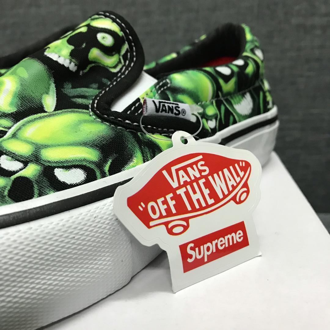 4321742a99 Vans x Supreme Slip-on Pro sneakers ( Skull Pile )