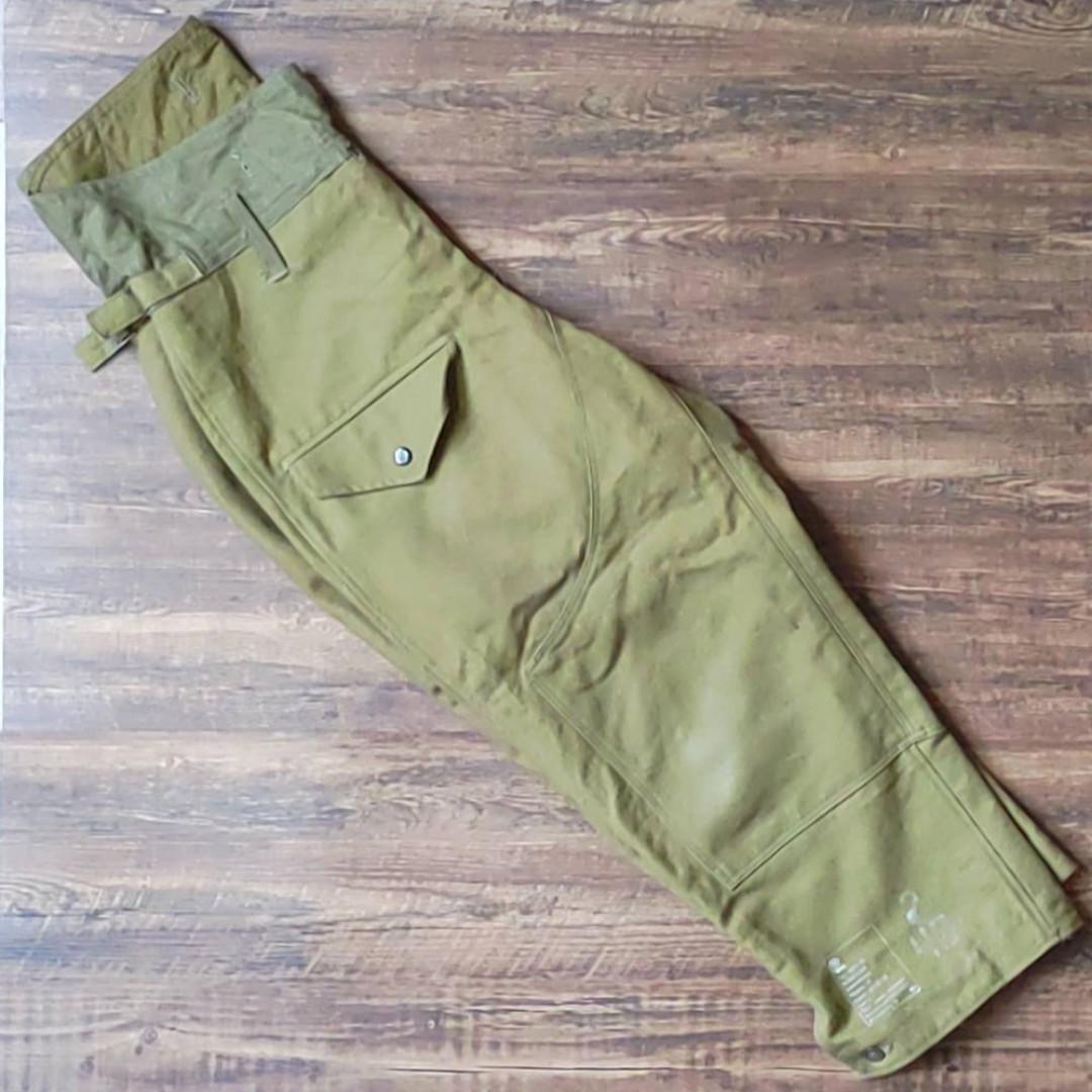 Vintage 古着 1989 蘇聯  冬季裝甲兵褲(無內裡)
