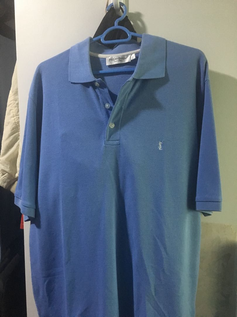2cb5b1b4 Yves saint laurent homme polo, Men's Fashion, Clothes, Tops on Carousell