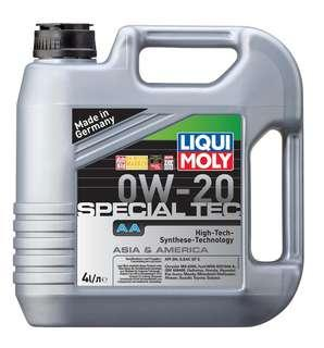 LIQUI MOLY SPECIAL TEC AA 0W20 Fully Synthetic Engine Oil 4L