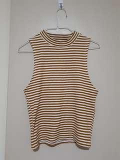 Orange striped crop glassons