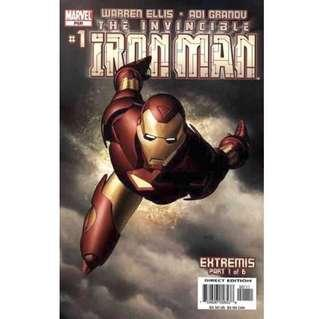 INVINCIBLE IRON MAN #1 (2005) First Issue!