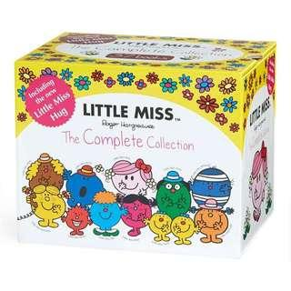LITTLE MISS COMPLETE COLLECTION 37 BOOKS BOX SET BY ROGER HARGREAVES