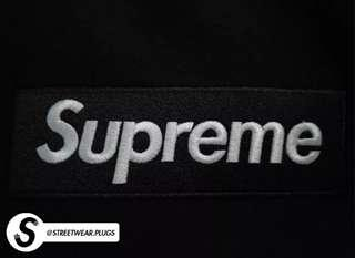 "AAA+ Quality // Supreme ""Black on Black"" Box Logo Hoodie (BOGO) (FW17) (BRAND NEW)"