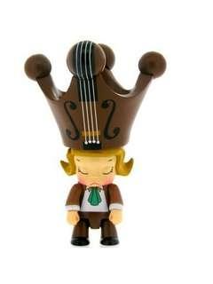 Toy2r x Kennyswork Molly Qee series 2 (Vio Vio) 原色1隻