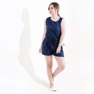 Blue Shorts/top Coordinates