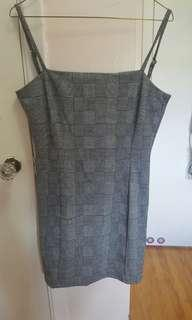 Forever 21 Size Small Bodycon Grey dress