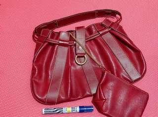 Original Lancel Paris Bag with Coin Purse