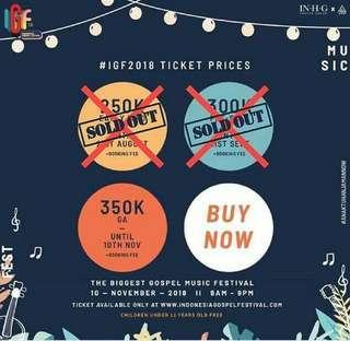 The biggest Festival GOSPEL Music in Indonesia