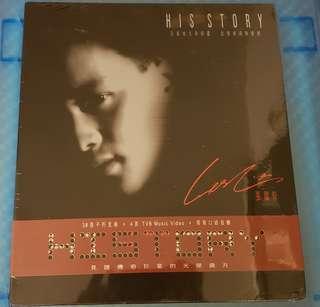 罕有 張國榮 History 3CD+VCD 全新未拆