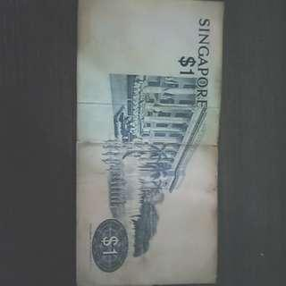 1 dollar singapore money